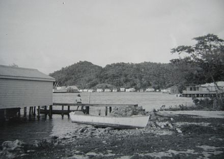 Oak Ridge in the 1960s Roatan, Oak Ridge 1968.jpg