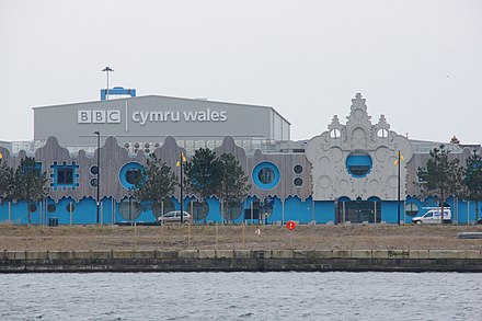BBC's Roath Lock studios Roath Lock studios in Cardiff.jpg