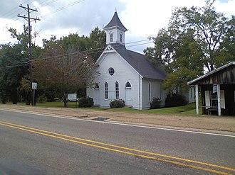 Robeline, Louisiana - Robeline Methodist Church off Texas Street