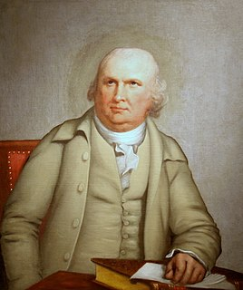Robert Morris (financier) American merchant, slave-trader, and Founding Father