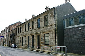 Robert Stephenson and Company - Works offices in South Street, Newcastle