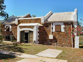 Roebourne, Western Australia - Roebourne Tourist Centre (formerly the entrance to Roebourne Gaol)
