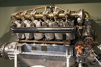 Rolls-Royce Limited - An Eagle VIII WWI era aero-engine