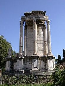 Tempel der Vesta (Forum Romanum) – Wikipedia