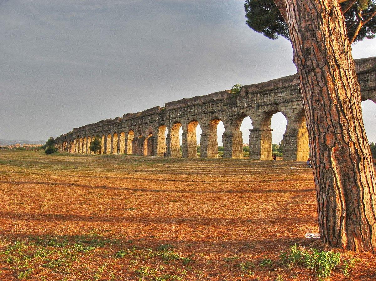 Acquedotto romano wikipedia for Affitto roma porta di roma