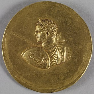 Caracalla - This medallion exemplifies the typical manner in which Caracalla was depicted. Walters Art Museum, Baltimore.