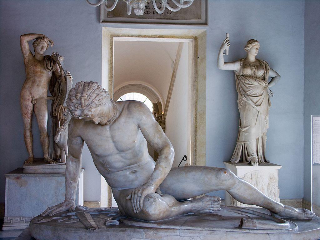 Statue du Gaulois mourant au Palais des Conservateurs à Rome - Photo de Jean-Christophe BENOIST