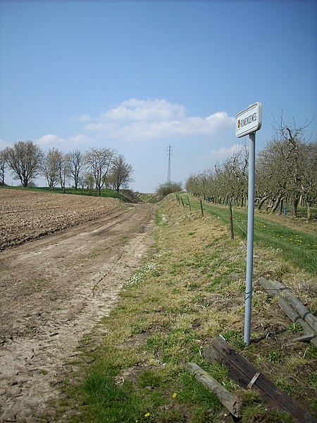 Romeinse weg van Tongeren tot Tienen.