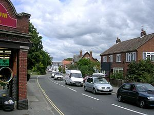 A337 road - Image: Romsey Road, Lyndhurst