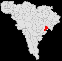 Vị trí của Rosia de Secas