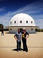 Ross and Carrie in front of the Integratron.jpg