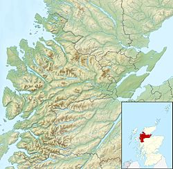Loch Broom is located in Ross and Cromarty