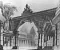 Rossini - Mosè in Egitto - 1. acte 1. scene - stage design draft - Antonio De Pian - copper engraving by Norbert Bittner - Kärntnertortheater Vienna 1824.png