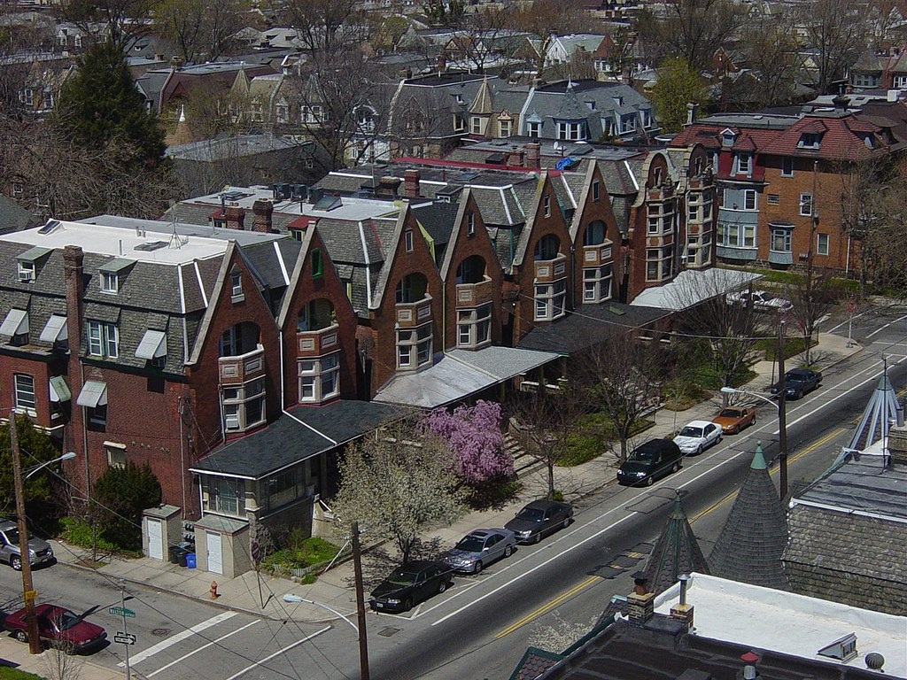 File Row Houses West Philly Jpg Wikipedia