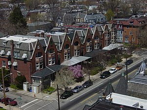Row Houses at 48th between Walton and Cedar, W...