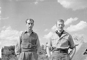 Neville Duke - Duke (left) during WWII