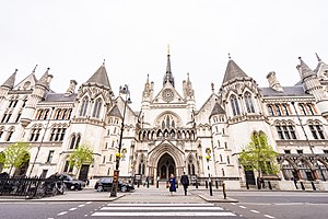 Royal courts of justice wikipedia