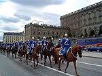 Gwardia króla w Sztokholmie