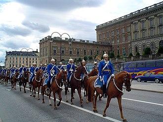 Royal Guards (Sweden) - Image: Royal guards sweden