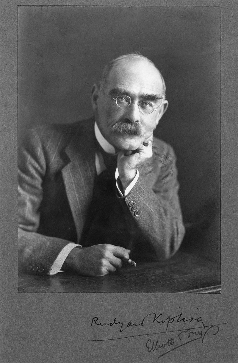 Rudyard Kipling, by Elliott & Fry.jpg