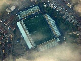 Rugby Park football stadium