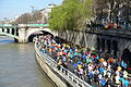 Runners @ Marathon de Paris @ Seine @ Paris (26182560626).jpg