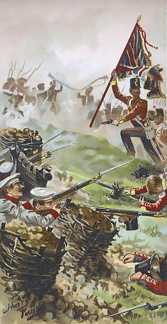 Russo-British skirmish during Crimean War