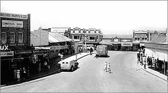 Greater Western Sydney - Bankstown Plaza, 1946.