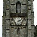 Sézanne, église Saint-Denis, horloge clocher 01.jpg
