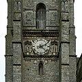 Sézanne, église Saint-Denis, horloge clocher 01.jpg