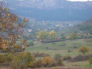 Kalotina - View towards Kalotina