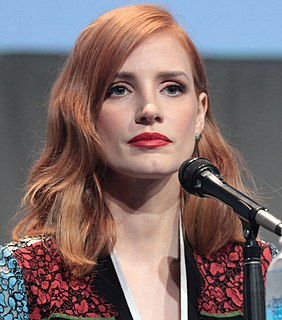 Jessica Chastain on screen and stage Wikipedia list article