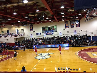 St. Francis Brooklyn Terriers - St. Francis vs LIU in the annual Battle of Brooklyn at The Pope on January 31, 2015.