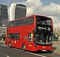 SN66WOV Go Ahead London Enviro 400H MMC EH124.jpg