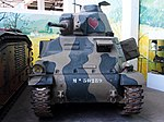 SOMUA S 35, Tanks in the Musée des Blindés, France, pic-1.JPG