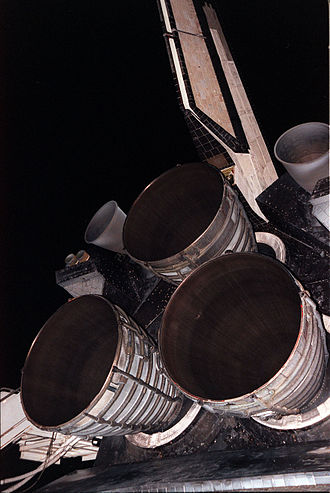 Sustainer engine - Space Shuttle main engines