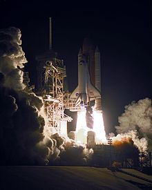 The launch of STS-101