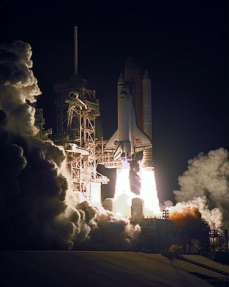 STS-101 - The launch of STS-101