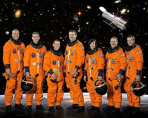 Advanced Camera for Surveys - The astronaut crew that repaired ACS on its 2009 space shuttle mission, STS-125