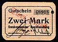 SWA-15a-Swakopmunder Buchhandlung-Two Mark (1916).jpg