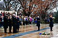 Sailors salute at the Tomb of the Unknowns. (8264507112).jpg