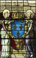 Saint-Chapelle de Vincennes - Baie 2 - Deux anges présentant les armes de France (bgw17 0444).jpg