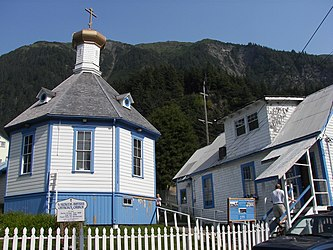 Saint Nicholas Russian Orthodox Church, Downtown Juneau, Alaska 3.jpg