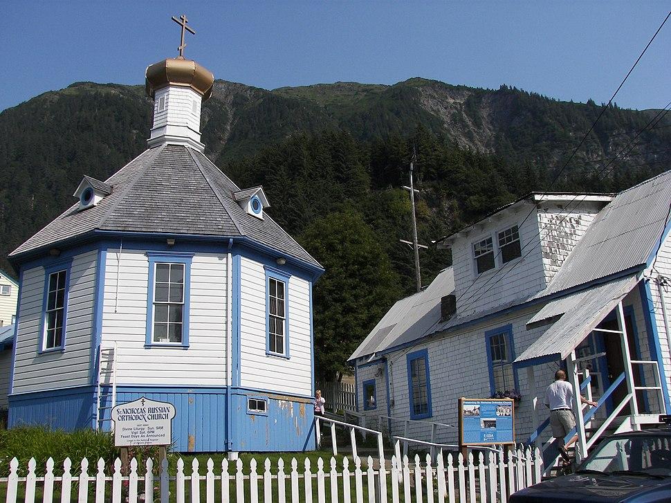 Saint Nicholas Russian Orthodox Church, Downtown Juneau, Alaska 3