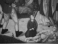 Saint Remigius Replenishing the Barrel of Wine; (interior) Saint Remigius and the Burning Wheat MET GermanCat60b IRP detail StRemigius.jpg