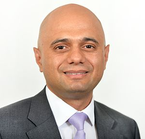 Department for Business, Innovation and Skills - Image: Sajid Javid Secretary of State
