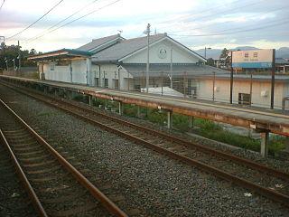 Sakata Station (Shiga) Railway station in Maibara, Shiga Prefecture, Japan