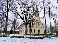 Salacgrīvas luterāņu baznīca - Bontrager - Panoramio.jpg