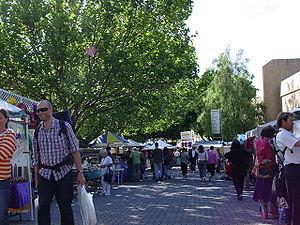 Salamanca Place - Image: Salamanca Market, Hobart, Tasmania