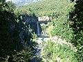 Salto de la Leona en Radal Siete Tazas desde Mirador.jpg